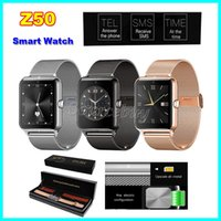 apple network monitor - Hot Sale Smart Watch Z50 Bluetooth3 quot NFC Support GSM Network Pedometer Sleep Monitoring Anti Lost smartwatch for IOS Android Phone