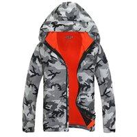 Wholesale Men Outdoor Sports Travel Camping Camouflage Winter Ski warm Soft Shell Windproof Waterproof Climbing Hunt Hiking Jacket Leisure