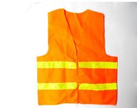 Wholesale High Visibility Reflective Vest Safety Workwear Polyester Safety Vest with Reflective Tape Customized MOQ