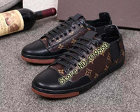 Wholesale new arrival New Luxury Famous Brand Designer for Men Leisure Shoes High Quality Leather Casual Shoes