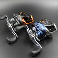 Wholesale Dropshipping New arrival BB fishing reel AF10 bait casting reel left and right hand options with gear ratio colors