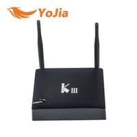 Wholesale Genuine KIII Amlogic S905 K3 Android Lollipop K Quad Core GB GB G GHz Dual WIFI BT4 KODI Pre installed order lt no tra