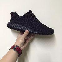 Wholesale Adidas Original Kanye West Yeezy Boost Moonrock Kanye Shoes Pirate Black Yeezy Boost Turtle Dove Grey Yeezy Sneakers With Box