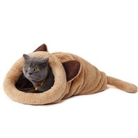 Wholesale 2016 Spring New Products Cat Bed Soft Warm Cat House Pet Mats Puppy Cushion Rabbit Bed Funny Pet Products Color