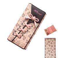 Wallets bag patchwork pattern - New Fashion Wallet Women Clutch Wallet Long Section Bandage Pattern Folded Ladies Holding Hand Wallet Phone Bags