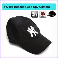 baseball memories - 16GB memory Built in new york cap baseball mini hidden camera peephole hat Cap Hat spy Remote Control Mini Camera PQ105