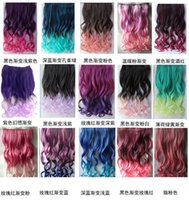 Wholesale Chemical fiber clip hair