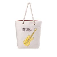 beach bag cotton rope - BK016 womens summer beach bags hot sale casual style handbags cotton rope girls shopping bag for school students phonebag
