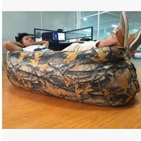 backpacking united states - Europe and the United States lazy outdoor inflatable sofa beach chair portable folding air sofa bed