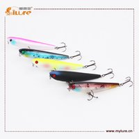 action plastic lures - Topwater Action Pencil Bait Floating Style ABS Plastic Fishing Lures mm g Fishing Lure