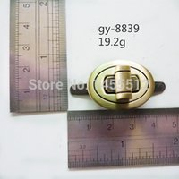access hardware - uggage Bags Bag Parts Accessories mm twist turn lock bags metal fashion hardware brushed antique brass DIY handmade access