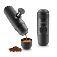 Wholesale New Mini Espresso Mini Protable Coffee Cup Set Hand Pressure Coffee Mug Espresso Machine Outdoor Travel Gadget Gift Espresso Coffee Maker
