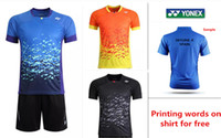 badminton clothes men - new badminton shirt badminton clothes table tennis shirt table tennis clothes T shirt tennis shirt sport shirt
