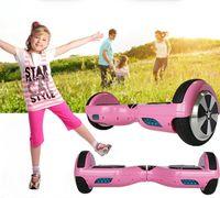 balance board kids - Pink Self Balancing Scooter Hoverboard Bluetooth Speaker LED Smart Balance Wheel Electric Balance Board Kids Overboard UL
