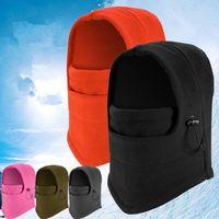 balaclava army - winter warm Fleece beanies hats for men skull bandana neck warmer balaclava ski snowboard face mask Wargame Special Forces Mask