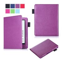 amazon new books - Colorful Litchi Leather Flip Case Pouch For Amazon New Kindle Oasis inch E Book E reader Leechee Fashion Bag Skin Cover