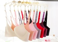 abc bra - A Size ABC cup women sexy underwear wireless candy colors Adjusted Straps Back Closure seamless corrective intimates brassier bras
