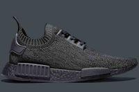 best concrete - BEST NMD R1 Primeknit Pitch Black S80489 Men Shoe NMD Boost Primeknit Black Men Running Shoes