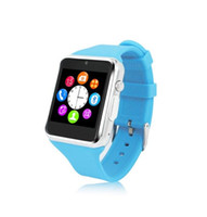 Wholesale Elegance Camera Intelligent smart wrist watch support quad band GSM sim card and Memory card with activity remind browser music SMS step