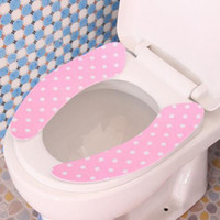Wholesale Paste type toilet warm toilet pad toilet pad Toilet Seat Covers repeatedly washed the toilet seat cushion