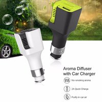 aroma rocks - ROCK Aroma Diffuser Car Charger V A Aroma Diffuser Car Phone Charger with Aromatherapy sheet Air freshener fast charger