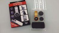 angle clip - LIEQI Universal Clip Mobile Phone Lens in Photo Lens wide Angle Lens macro Lens Fish Eye Lens
