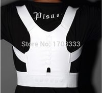 Wholesale 200pcs Magnetic Posture Support Corrector Body Back Pain Belt Brace Shoulder DA84