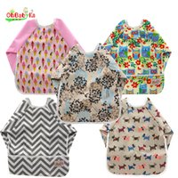 bib bags - 2016 New High Quality Baby Waterpoof Baby Eating Reusable Bag Bandana Bibs Baberos Bebes Infant Baby Bibs Brup Cloths Colors