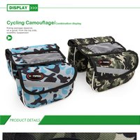 Wholesale Riding mountain front beam equipment package wear waterproof and shockproof bicycle double tube bag pack