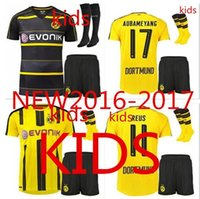 Wholesale Top thai quality Dortmund Kids sock Quarter tees