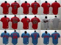 authentic twins jersey - 2016 Newest Elite Men s Minnesota Twins Killebrew Joe Mauer Miguel Sano Puckett Flexbase Authentic Collection Jerseys