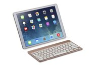aluminum window systems - Universal aluminum alloy Bluetooth keyboard Backlit Colors Brightness for iOS Android Windows System Super slim leather case for iPad Pro