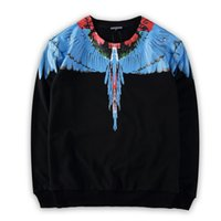 angels clothing - MARCELO BURLON designer clothing brand of high quality men s sweater sweater angel wings feather sport sweater
