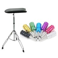 1 Piece adjustable back chair - USA Warehouse Pro Arm Leg Rest Adjustable Chair Furniture Tattoo Grips Tube Back stem Tattoo Accessories for beginner tattoo kits supplies