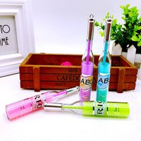 beautiful highlighter - Beautiful design bottle shape of different color gel pen highlighter marker stationery ballpoint pen painting colorful writing