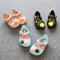 baby blue heels - Mini Sed Shoes New Hot Sale Summer Girls Shoes Children Shoes Girls Sandals Pineapple Jelly Baby Kids Sandals