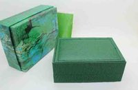 Wholesale LuxuryGreen With Original Ro Watch Box Papers Card Wallet Boxes Cases Luxury Watches