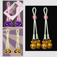 Wholesale Strong Nipple Clamps with Luminous String SM Fetish Sex Products for Women Adult Sex Game BDSM Bondage SM Nipples Clamp