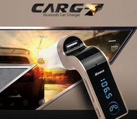 Wholesale Car G7 Wireless Bluetooth FM Transmitter Modulator Car MP3 Player SD USB AUX car voltage protection with retail box