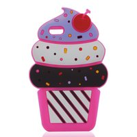 apple cupcakes - For Samsung Galaxy J1 J1 Ace Mini J2 J3 J5 J7 J320 J510 J710 Case D Cute Cartoon Cherry Cupcakes Ice Cream Silicon Cover