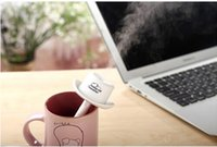 Wholesale High Quality Colors Mini Cowboy Hat Cap USB Humidifier Air Purifier Aroma Diffuser for Office Home or Car