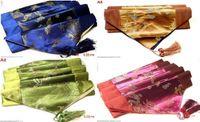 asian tablecloth - 4 Colours Asian Silk Dragon Phoenix Patterns Tablecloths