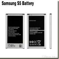 Wholesale Original mAh Replacement Battery for Samsung GALAXY S5 Battery for G900S G900F G9008V v W W EB BG900BBC