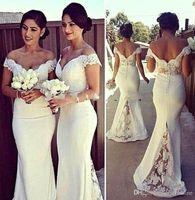 Cheap White Mint Green Best  54 Long Evening Dresses