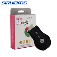Wholesale Newest TV Stick Anycast M2 Plus wifi Miracast DLNA Airplay Dongle For iOS Andriod Windows Better Than EzCast Chromecast