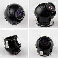 backup camera reverse image - 360 Degree Waterproof Mini Wide Angle HD CCD Car Rear View Camera With Mirror Image Convert Line Backup Reverse Camera