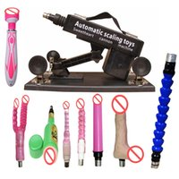 Wholesale Sexual Machines For Men - Automatic Sex Machine Gun with Dildo Automatic Sexual Intercourse Machine for Men and Women Free Gift Vibrator Rod Sex Toys