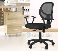 Wholesale New Ergonomic Mid back Mesh Swivel Computer Office Desk Task Chair Black