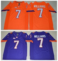 Wholesale Clemson Tigers College Mike Williams Jersey Sale Men Orange Purple Color Mike Williams Football Jerseys Cheap All Stitched Best Quality
