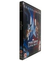 Wholesale Captain America Civil War Disc set Uk Version Region Boxset New kg